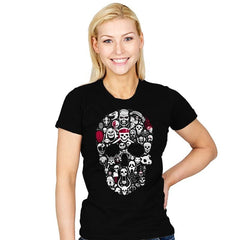 Skulls Time - Womens - T-Shirts - RIPT Apparel