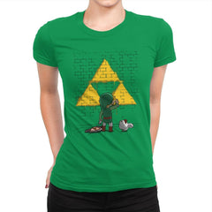 Link Graffiti - Womens Premium - T-Shirts - RIPT Apparel