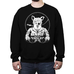 Barf Is My Copilot - Crew Neck Sweatshirt - Crew Neck Sweatshirt - RIPT Apparel