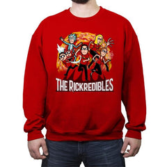The Rickredibles - Crew Neck Sweatshirt - Crew Neck Sweatshirt - RIPT Apparel