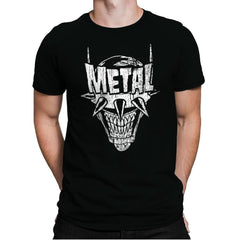 Heavy Metal Laughing-Bat - Anytime - Mens Premium - T-Shirts - RIPT Apparel