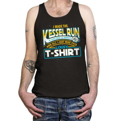 I Made the Kessel Run - Tanktop - Tanktop - RIPT Apparel
