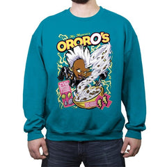 OrorO's Cereal - Crew Neck Sweatshirt - Crew Neck Sweatshirt - RIPT Apparel