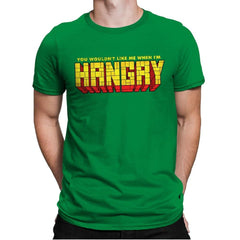 You Wouldn't Like Me When I'm Hangry - Best Seller - Mens Premium - T-Shirts - RIPT Apparel