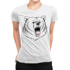 Universal Language Bear Love - Womens Premium - T-Shirts - RIPT Apparel