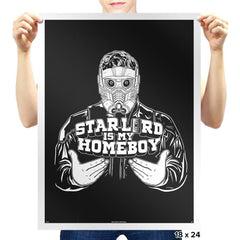 Home-Lord Is My Starboy - Prints - Posters - RIPT Apparel