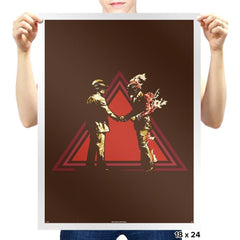 Daft Pink - Heavy Metal Machine - Prints - Posters - RIPT Apparel