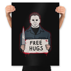 Free Hugs Yay - Prints - Posters - RIPT Apparel