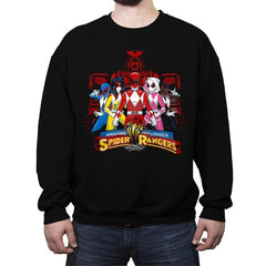 Spider Rangers - Crew Neck Sweatshirt - Crew Neck Sweatshirt - RIPT Apparel