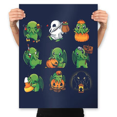 Call of Halloween - Prints - Posters - RIPT Apparel