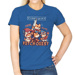 Fetch Quest - Womens - T-Shirts - RIPT Apparel
