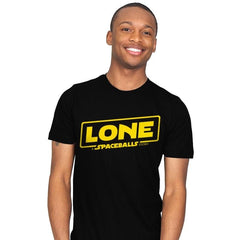Lone - A Spaceball Story - Mens - T-Shirts - RIPT Apparel