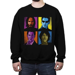 Pop Keanu - Crew Neck Sweatshirt - Crew Neck Sweatshirt - RIPT Apparel