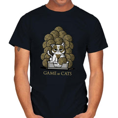 Game Of Cats - Mens - T-Shirts - RIPT Apparel
