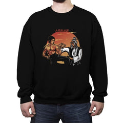 Conflict of Masters - Crew Neck Sweatshirt - Crew Neck Sweatshirt - RIPT Apparel