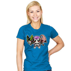 The Powerpuff Villains - Womens - T-Shirts - RIPT Apparel