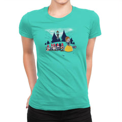 Mabel and the Seven Gnomes Exclusive - Womens Premium - T-Shirts - RIPT Apparel