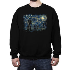 Stranger Night - Crew Neck Sweatshirt - Crew Neck Sweatshirt - RIPT Apparel