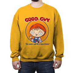 Good Guy - Crew Neck Sweatshirt - Crew Neck Sweatshirt - RIPT Apparel