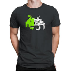 Space Invader Anatomy Exclusive - Mens Premium - T-Shirts - RIPT Apparel