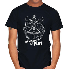 Let's Do Some Reading - Mens - T-Shirts - RIPT Apparel