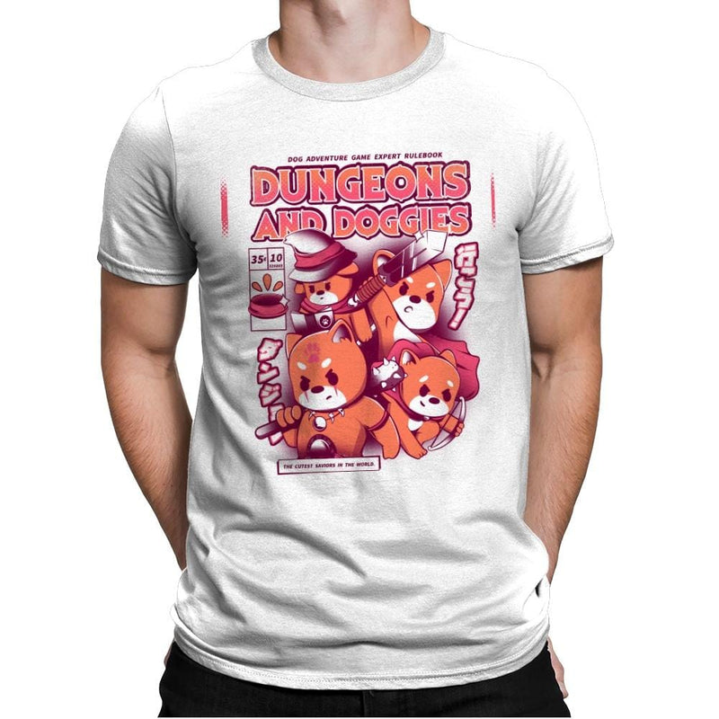 Dungeons & Doggies - Mens Premium - T-Shirts - RIPT Apparel