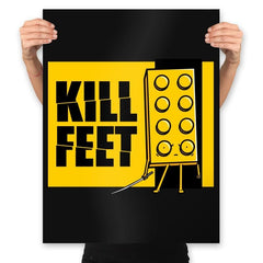 Kill Feet - Prints - Posters - RIPT Apparel