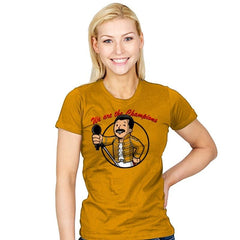 Vault Freddie - Womens - T-Shirts - RIPT Apparel