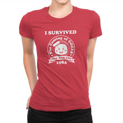 Surviving 1984 - Best Seller - Womens Premium - T-Shirts - RIPT Apparel