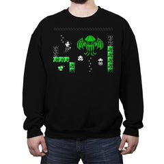 The Call of Bloopthulhu - Crew Neck Sweatshirt - Crew Neck Sweatshirt - RIPT Apparel