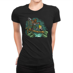 Barret & Cloud - Womens Premium - T-Shirts - RIPT Apparel
