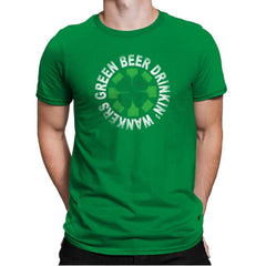 Green Beer Drinkin' Exclusive - St Paddys Day - Mens Premium - T-Shirts - RIPT Apparel