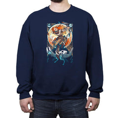 Nouveau Dawn - Crew Neck Sweatshirt - Crew Neck Sweatshirt - RIPT Apparel