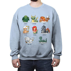 Sea Monsters - Crew Neck Sweatshirt - Crew Neck Sweatshirt - RIPT Apparel