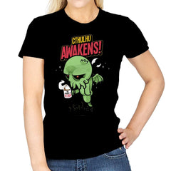 Cthulhu Awakens Again - Womens - T-Shirts - RIPT Apparel