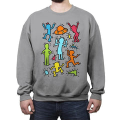 Rick Haring - Crew Neck Sweatshirt - Crew Neck Sweatshirt - RIPT Apparel