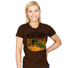 The Desolation of Shenron - Womens - T-Shirts - RIPT Apparel