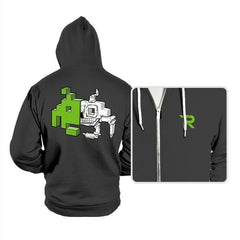 Space Invader Anatomy - Hoodies - Hoodies - RIPT Apparel
