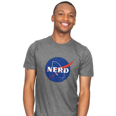 Space Nerd - Mens - T-Shirts - RIPT Apparel