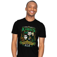 Golden Mile Ale - Mens - T-Shirts - RIPT Apparel