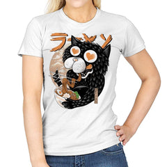 Cat Love Ramen - Womens - T-Shirts - RIPT Apparel