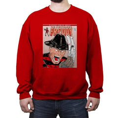 NIGHTMARISH FREDDY - Crew Neck Sweatshirt - Crew Neck Sweatshirt - RIPT Apparel
