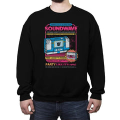 Pump Up The Volume - Anytime - Crew Neck Sweatshirt - Crew Neck Sweatshirt - RIPT Apparel