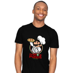 Plumber Pizza - Mens - T-Shirts - RIPT Apparel
