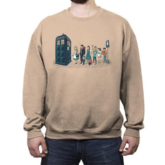 The Doctor's Express - Crew Neck Sweatshirt - Crew Neck Sweatshirt - RIPT Apparel