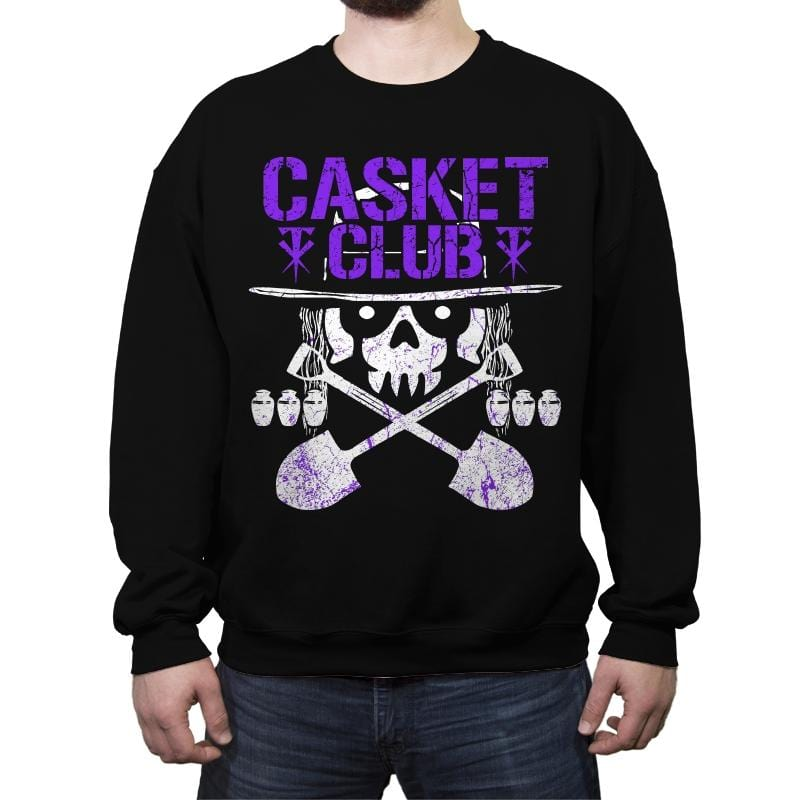 CASKET CLUB Exclusive - Crew Neck Sweatshirt - Crew Neck Sweatshirt - RIPT Apparel