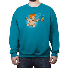 Slurmind - Crew Neck Sweatshirt - Crew Neck Sweatshirt - RIPT Apparel