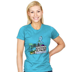 Existence is Pain - Womens - T-Shirts - RIPT Apparel
