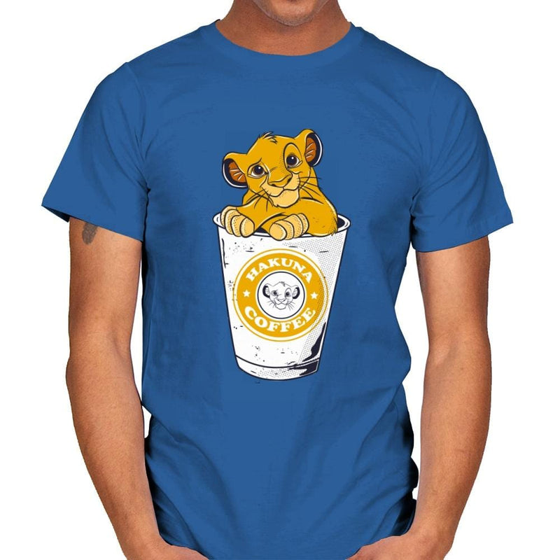 Hakuna Coffee - Mens - T-Shirts - RIPT Apparel