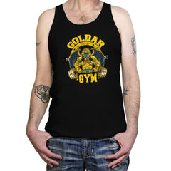 Goldar Gym - Tanktop - Tanktop - RIPT Apparel